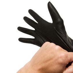 100/box White/Blue/Black Med/Large/XL Nitrile Gloves Powder