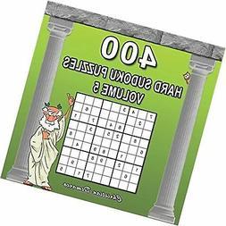 400 Hard Sudoku Puzzles Volume 5: Extra Large Book Layout -