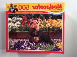 500 extra large pieces Kodacolor Puzzle - Welsh Terrier - fa