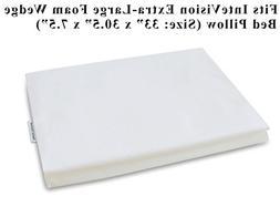 InteVision 400 Thread Count, 100% Egyptian Cotton Pillowcase