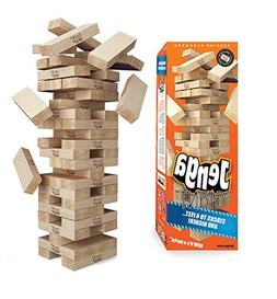 Jenga GIANT Genuine Hardwood Game