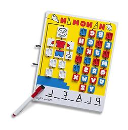 Melissa & Doug Flip to Win Travel Hangman Game - White Board