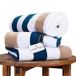 Oversize Plush Cabana Towel by Laguna Beach Textile Co | Nav