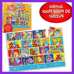 The Learning Journey Jumbo Floor Puzzles - Numbers - Extra L