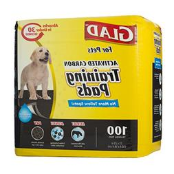 Glad for Pets Activated Carbon Dog Pee Pads | Puppy Training