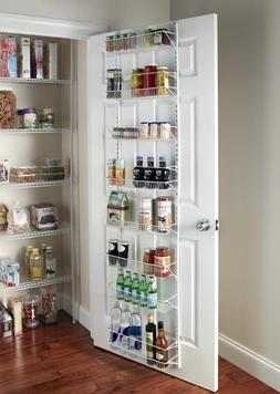 Adjustable Over Door Kitchen Pantry Storage Rack 8-Tier Clos