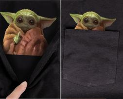 baby yoda middle finger funny meme pocket