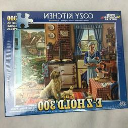 Cozy Kitchen 300 Extra Large Pieces Puzzles Cozy Kitchen #13