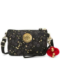 Kipling Creativity Extra Large Printed Pouch Grey Gold Fl