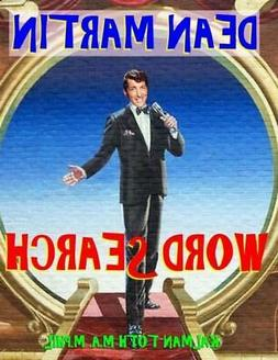 Dean Martin Word Search: 133 Extra Large Print Entertaining