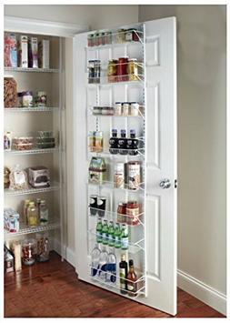 Door Spice Wall Mount Storage Kitchen Shelf Pantry Holder Ra