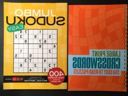 Easy Sudoku 400 puzzles Extra large grids, Large Print 150 C