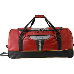 "Pacific Coast Extra Large 35"" Rolling Duffel Bag 4 Colors Tr"