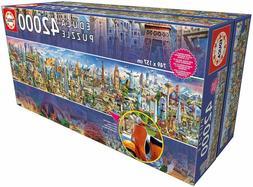 Educa Extra-Large Around the World Jigsaw Puzzle - 42,000-Pc