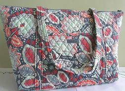 Vera Bradley Extra Large Miller Travel Bag Tote Carry on Nom