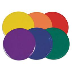 """Extra Large Poly Marker Set, 12"""" Diameter, Assorted Colors,"""