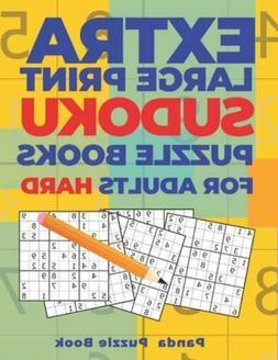 Extra Large Print Sudoku Puzzle Books For Adults Hard: Sudok