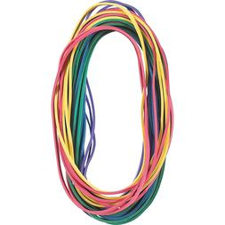 extra large rubber bands in assorted colors