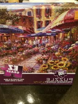 "Milton Bradley EZ GRASP 300 Piece Jigsaw Puzzle ""Santorini"""