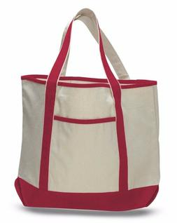 fancy canvas extra large deluxe tote bag
