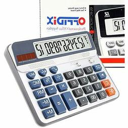 Financial & Business Extra Large Display Desktop Calculator,