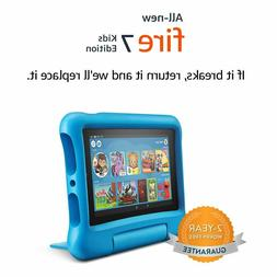 """Fire 7 For Kids Edition Tablet   7"""" Display, 16 GB, Kid-Proo"""
