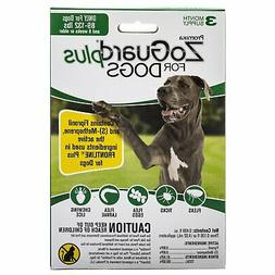 Zoguard Plus Flea and Tick Treatment Dogs 89-132 lbs. 3 Mont