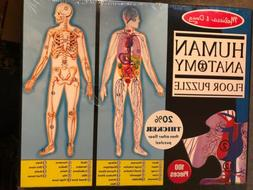 Floor Jigsaw Puzzle, Human Body Case Pack 1 Pieces