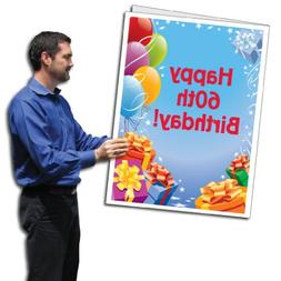VictoryStore Jumbo Greeting Cards: Giant 60th Birthday Card