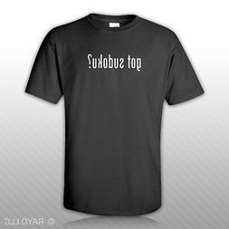 Got Sudoku ? T-Shirt Tee Shirt Gildan Free Sticker S M L XL