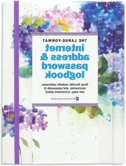 Hydrangeas Extra Large Format Internet Address Password Logb