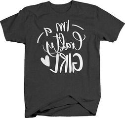 Im a crafty girl heart crafts creative hobby fun Tshirt for
