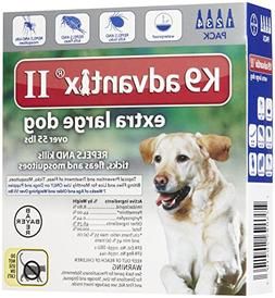 K9 Advantix II Extra Large Dog 4-Pack