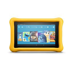 "Fire 7 Kids Edition Tablet, 7"" Display, 16 GB, Yellow Kid-Pr"