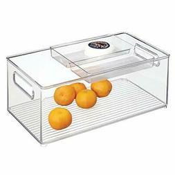 InterDesign Kitchen Storage Bins for Pantry, Refrigerator -