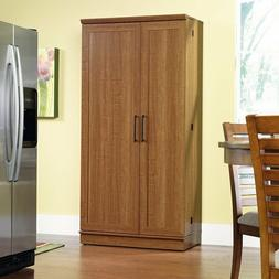 Kitchen Storage Cabinets Extra Large Wood Pantry Food Organi