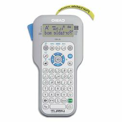 Casio KLHD1 Handheld Label Maker, 3 Lines, Extra-Large Displ