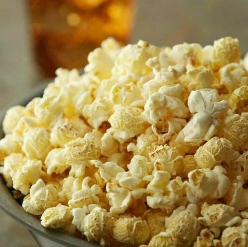 Mushroom Popcorn Kernel Theater Movie Kettle Corn Monster