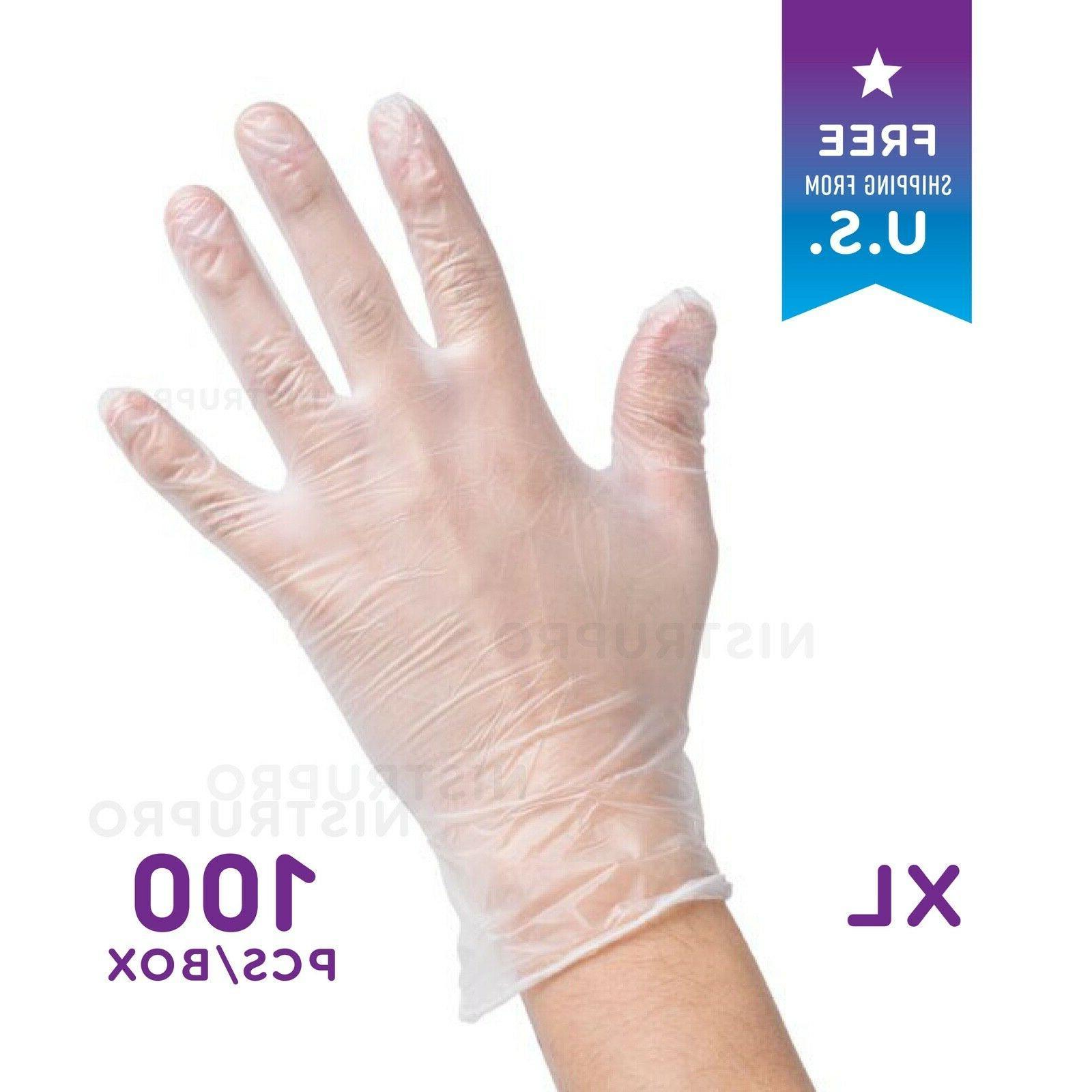 100 pcs box powder free latex free