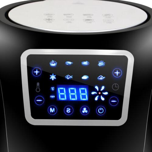 1700W Extra Large Air LCD Display Temperature Presets