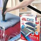 2 Premium Jumbo Vacuum Storage Bags with Travel Pump Durable