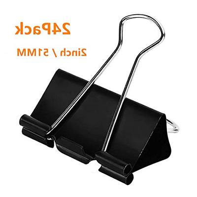 24pack extra large binder clips big paper
