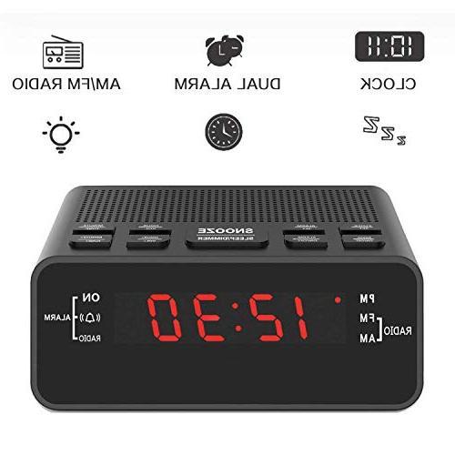 Jingsense 251US Clock Radio with for