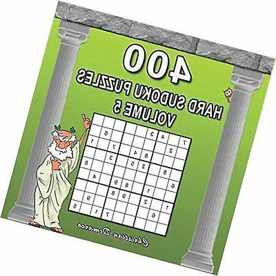 400 hard sudoku puzzles volume 5 extra