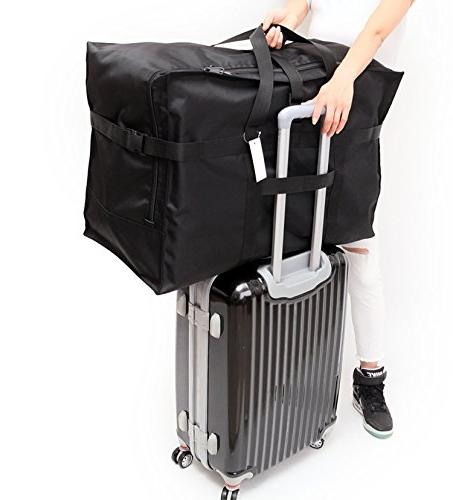 Extra Bag 28'',120L,Anti Tote Luggage Bag Bag Black Oversized