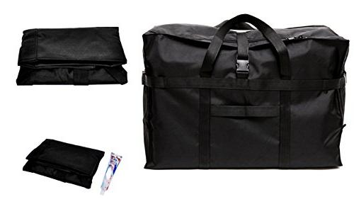 Extra Large Travel Duffel Bag 28'',120L,Anti Theft Tote Bag Bag Black