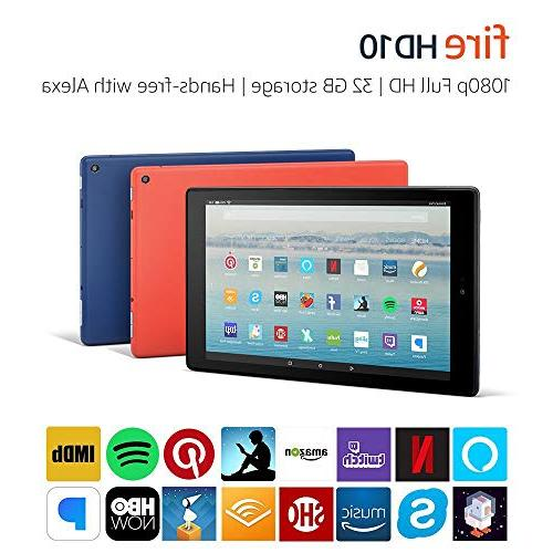 Fire 10 with 32 GB, Red - with