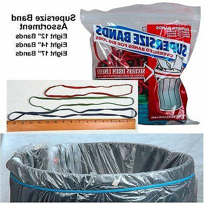 Wholesale CASE of 25 - Alliance SuperSize Rubber Bands-Super