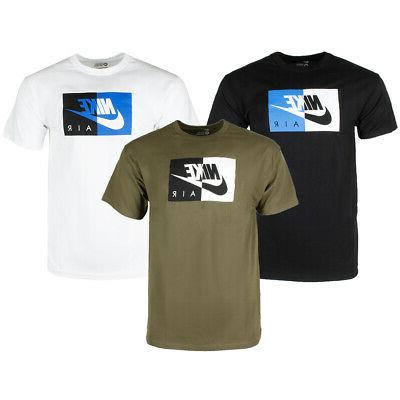 air men s short sleeve color blocked