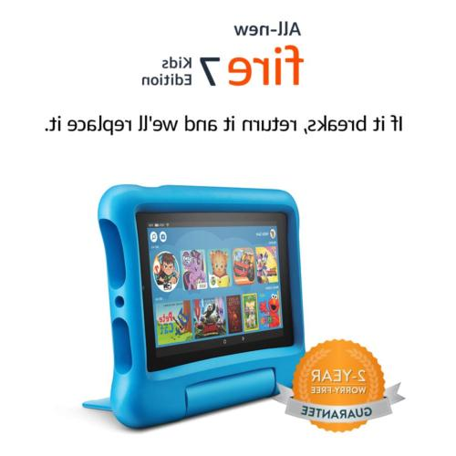 all new fire 7 kids edition tablet